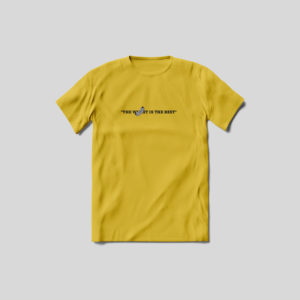 The Volkswurst is the best t shirt yellow